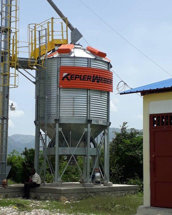 Grain Drier St Rapheal, Haiti